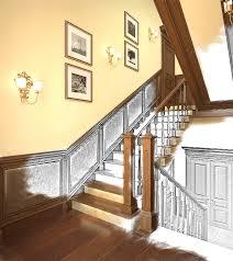 wandgestaltung treppenaufgang treppenhaus renovieren treppenhaus tapezieren treppenhaus farbe