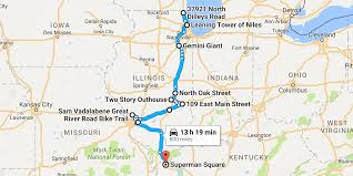 Naperville Il Map Take A Road Trip To The Quirkiest Roadside Attractions In Illinois
