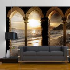 Amazon Wall Murals Details About Arches Beach Sea Photo Wallpaper Wall Mural Room