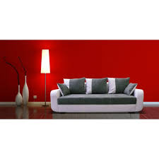 canap convertible blanc et gris canapé lit jasper décoration d intérieur table basse et meuble