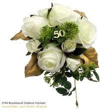 brautstrauß goldene hochzeit goldene hochzeit 50 jahre - Goldene Hochzeit Blumen