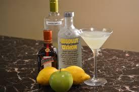 green apple martini recipes dumbartender