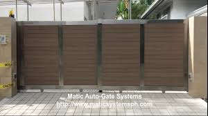 Sliding Gate Design For House