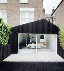 excellent black roof black fence design with terrific white layout