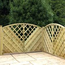 4 Ft Fence Panels With Trellis 4ft 1 2m High Trellis All Garden Trellis Elbec Garden Buildings