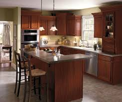 kitchen cabinet cherry dark cherry kitchen cabinets aristokraft cabinetry