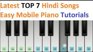 tutorial piano simple latest top 7 hindi songs piano tutorials jarzee entertainment