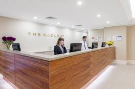 Reception Desks Sydney by Gallery The Macleay