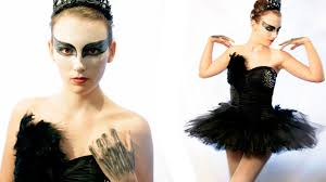 diy black swan halloween costume youtube