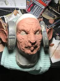 prosthetics i sculpted molded and ran for a halloween client
