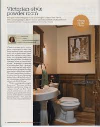 Powder Rooms With Wainscoting Victorian Powder Room Home