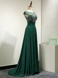 green dress 2017 custom made charming green prom dress sleeveless evening