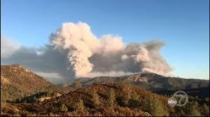 Wildfire Jordan Mt by Detwiler Fire Near Yosemite National Park Burns Over 70 000 Acres