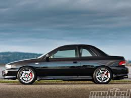 subaru modified 2000 subaru impreza 2 5rs coupe diy done right modified magazine