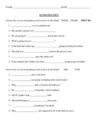 homophone worksheets englishlinx com board pinterest