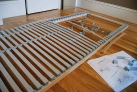 bed frames strong platform slatted bed frame vs box spring