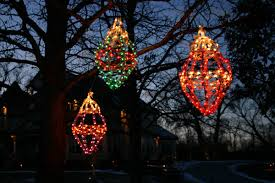 large outdoor tree lights chritsmas decor