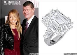 carey wedding ring it s so take a look at carey s 35 carat engagement ring