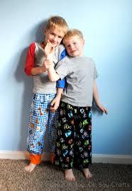 free pattern pajama pants free boys flannel pajama pants pattern beatnik kids