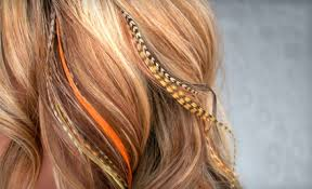 hair feather feather extensions keith s haircenter