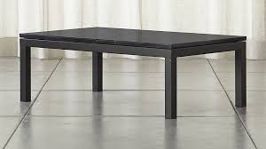 small marble top table parsons black marble top dark steel base 48x28 small rectangular