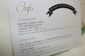 Abbreviation Of Rsvp In Invitation Card Invitation Etiquette Part 3 The U201cofficial U201d Wedding Invitation