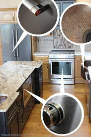 what color cabinets match black stainless steel appliances partial remodel how to pull mixing metals