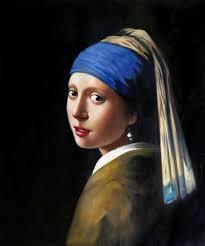 girl with pearl earring painting vermeer girl with a pearl earring painting