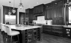 Dark Stained Kitchen Cabinets by Kitchen Dark Oak Cabinets Cabinet Photos Pictures With Gray Walls