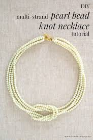 pearl necklace knot images Pearl bead square knot necklace by create enjoy project jpg