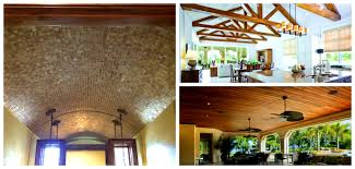 exteriors marvelous alternate ceiling styles for designer look