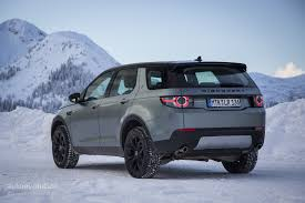 blue land rover discovery 2015 land rover discovery sport review autoevolution
