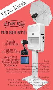 Photo Booth Cost Tb20 Social Media Photo Booth Kiosk U2013 Treasure Booth