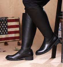 s army boots uk arrival s knee high boots black pu leather back