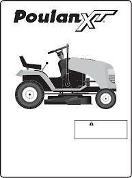 poulan lawn mower pxt175g42 user guide manualsonline com