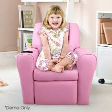 kids recliner sofa luxury kids recliner sofa children lounge chair padded pu leather