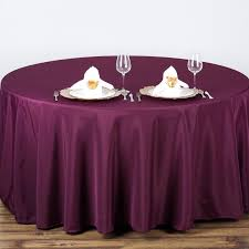 Linens For Weddings Round Polyester Tablecloth Wedding Party Table Linens Wholesale