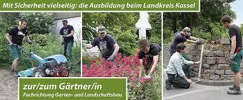 garten und landschaftsbau ausbildung landkreis kassel gärtner in fachrichtung garten und