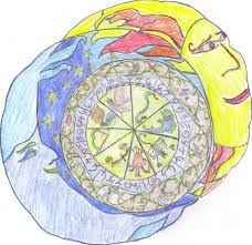 sun and moon mandala color by vitisitum on deviantart