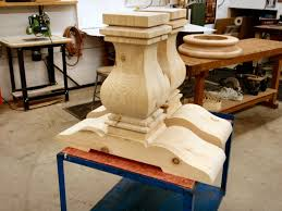 kitchen island legs unfinished hanson woodturning