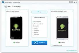 transfer contacts android android data recovery transfer samsung htc sony recovery transfer