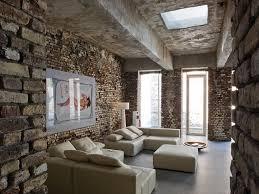 interior industrial with pillows minimalist interior design 63