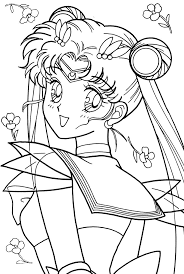 462 best colorear sailor moon terminada images on pinterest