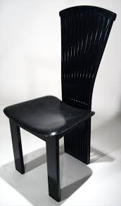 furniture winsome black lacquer dining room chairs french art