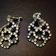 clip on chandelier earrings best back clip on earrings products on wanelo