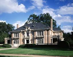 french chateau homes dallas eclectic architecture