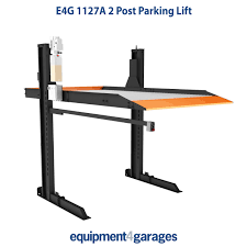 parking lift car storage ramps 2 post lift e4g 1127a