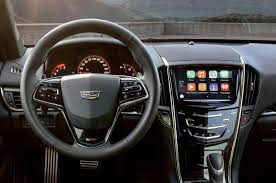nissan leaf apple carplay cadillac cue adds apple carplay android auto for 2016