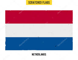 Flag Of Netherlands Drawn Flag Easy Pencil And In Color Drawn Flag Easy
