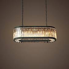 Rh Chandelier Modern Vintage Crystal Chandelier Lighting Pendant Hanging Light